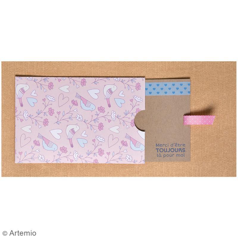 Tampons transparents Artemio - Motifs Amour - 34 pcs - Photo n°3