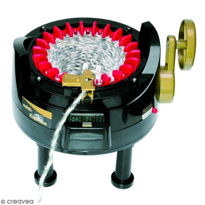 Machine a Tricoter Electrique,Tricotin Automatique,Kit Tricot Debutant Adulte,22//40//48 Aiguilles,Cr/éAtivit/é Pour Des Enfants M/éTier /à Tisser Rapide De Tricot L-48Needle
