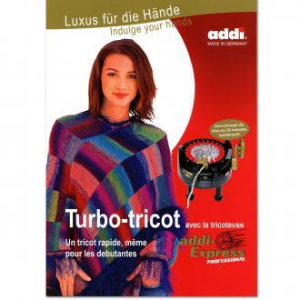 Livre Turbo-Tricot n°1 - 15 modèles faciles à réaliser au tricotin - 48 pages