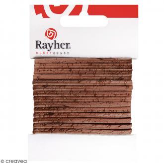 Ruban en liège brun noisette - 3 mm x 150 cm