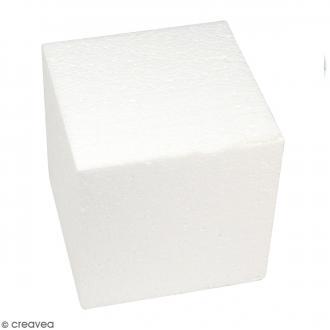 Cube en polystyrène - 15 cm