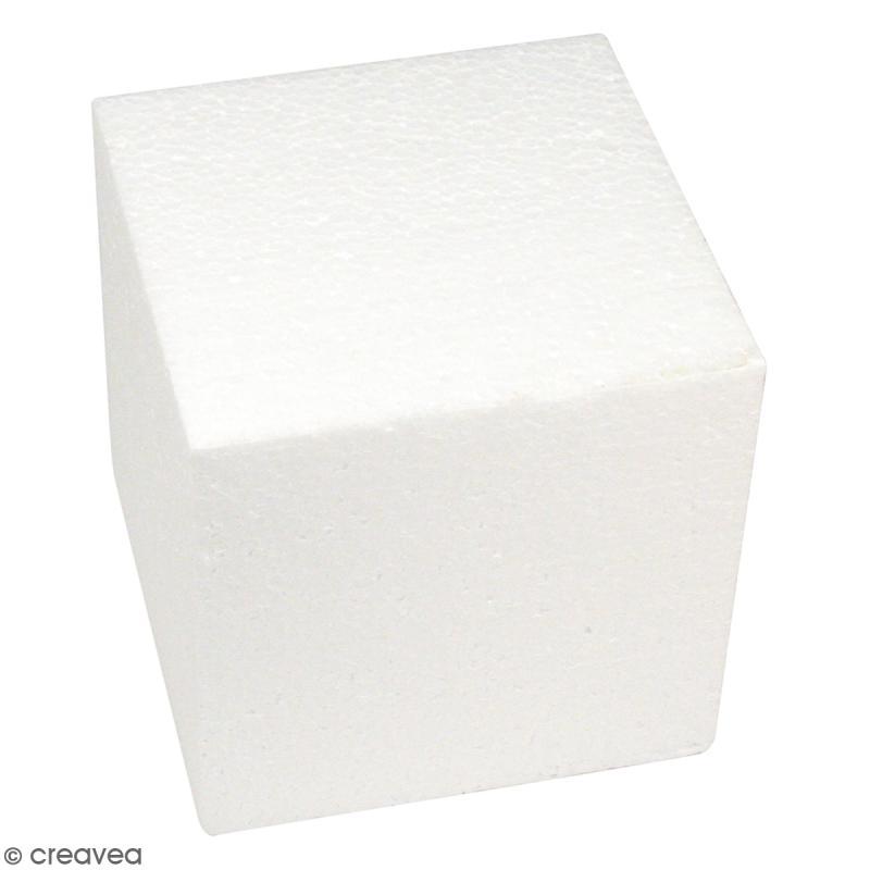 cube en polystyr ne 20 cm supports divers en. Black Bedroom Furniture Sets. Home Design Ideas