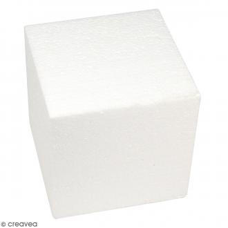 Cube en polystyrène - 20 cm
