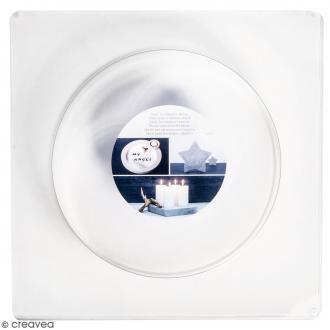 Moule pour béton créatif - Cercle 18,5 cm