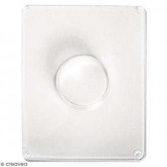 Moule pour béton créatif - Cercle 4,5 cm