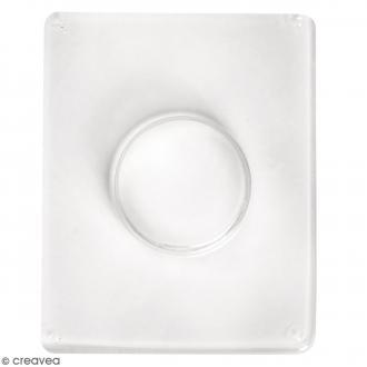 Moule pour béton créatif - Cercle 5,5 cm