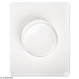 Moule pour béton créatif - Cercle 6,5 cm