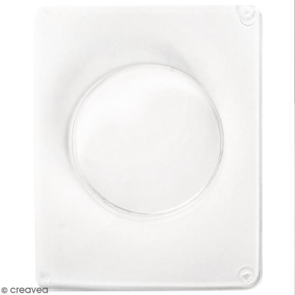 Moule pour béton créatif - Cercle 7,5 cm - Photo n°1