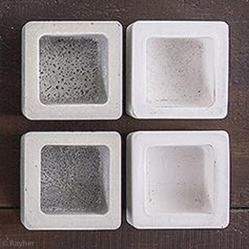 Moule Pour Beton moule pour béton créatif - carré 5,5 cm - moule déco pour béton