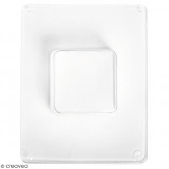 Moule pour béton créatif - Carré 5,5 cm