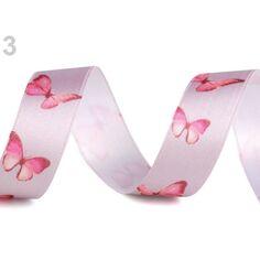Buddly Crafts Papillons Imprimé Gros-Grain Ruban