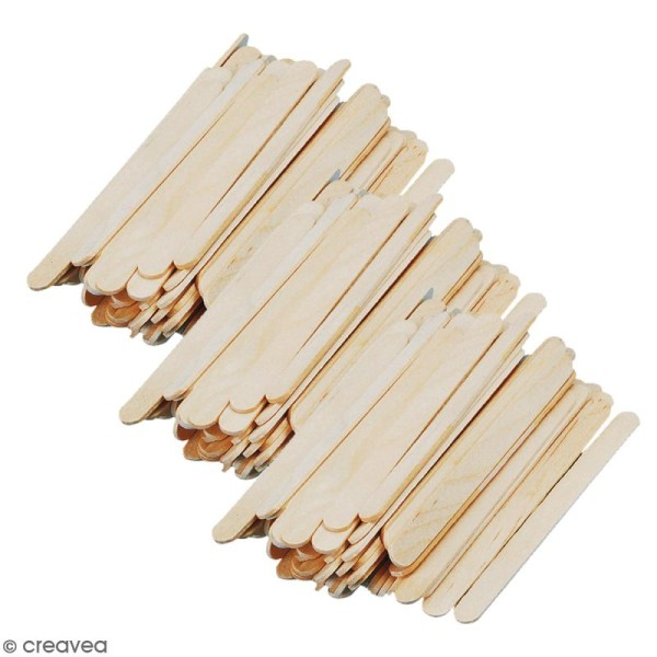 Bâtonnets en bois - 5,5 x 0,6 cm - 300 pcs - Photo n°1