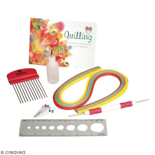 Kit quilling pour débutants - 115 pcs - Photo n°2