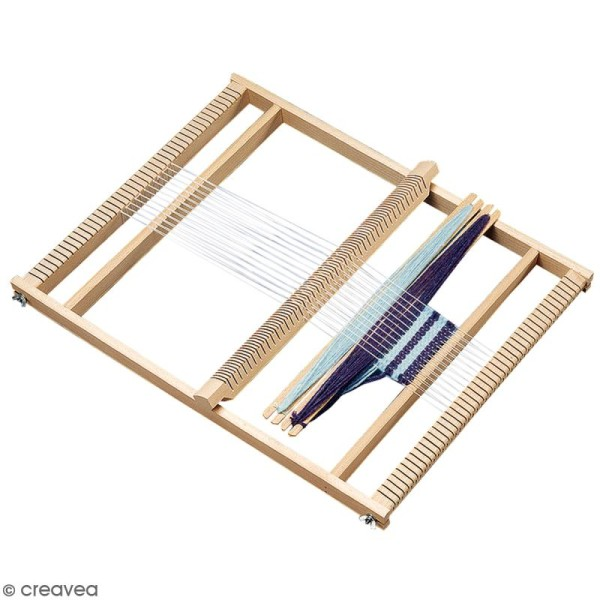 Kit métier à tisser - 40 x 53,5 cm - Photo n°1