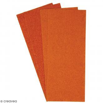 Papier émeri 11,5 x 28 cm - 4 feuilles de papier à poncer
