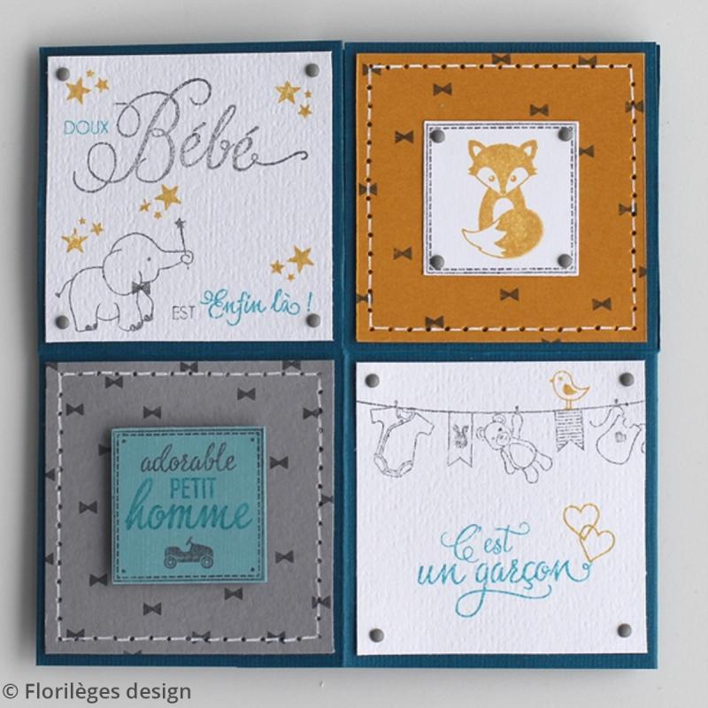 Tampons Sweety clear Bienvenue bébé - De 0,5 à 4,5 cm - 9 pcs - Photo n°4