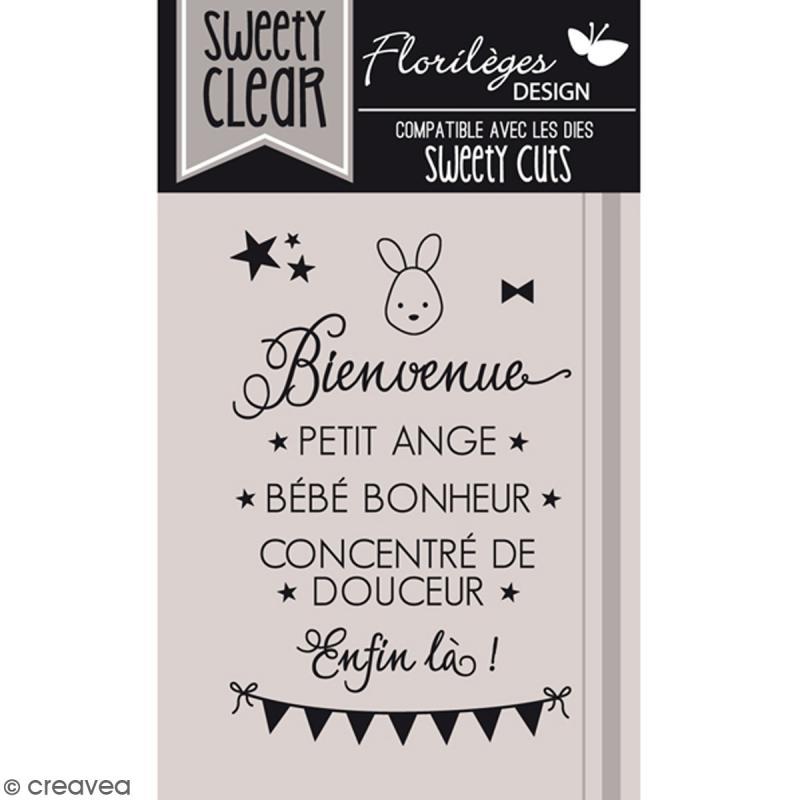 Tampons Sweety clear Bienvenue bébé - De 0,5 à 4,5 cm - 9 pcs - Photo n°1