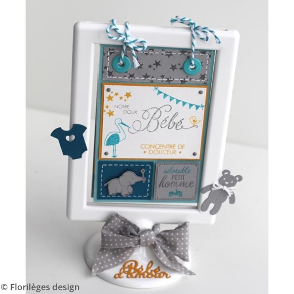 Tampons Sweety clear Adorable bébé - De 1 à 9 cm - 13 pcs - Photo n°2