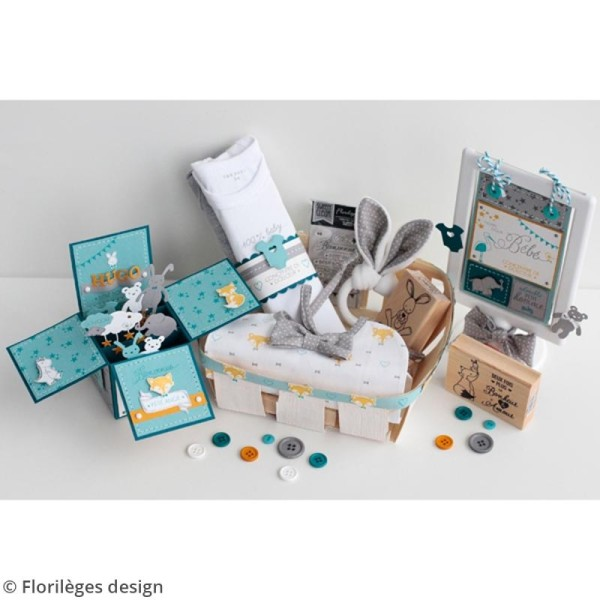 Die Florilèges Design Les combos - Bébé d'amour - 4 pcs - Photo n°6