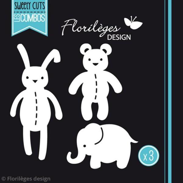 Die Florilèges Design Les combos - Les doudous - 3 pcs - Photo n°3