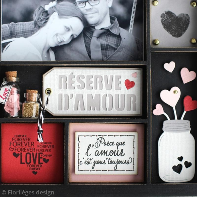 Tampons Sweety clear Notre mariage - De 1 à 6 cm - 16 pcs - Photo n°5