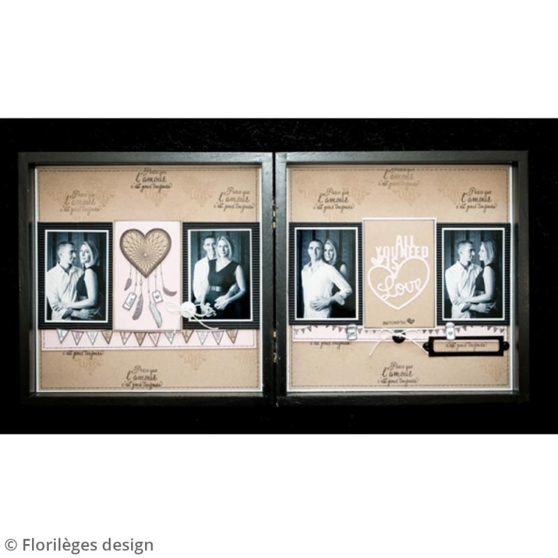 Tampons Sweety clear Notre mariage - De 1 à 6 cm - 16 pcs - Photo n°6