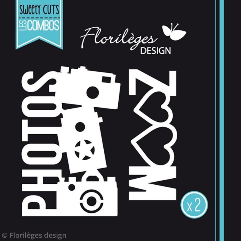 Die Florilèges Design Les combos - Photos zoom - 2 pcs - Photo n°3
