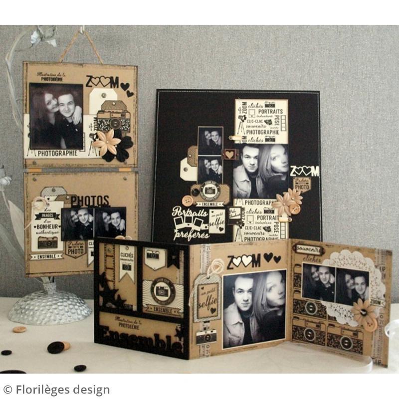 Die Florilèges Design Les combos - Photos zoom - 2 pcs - Photo n°4