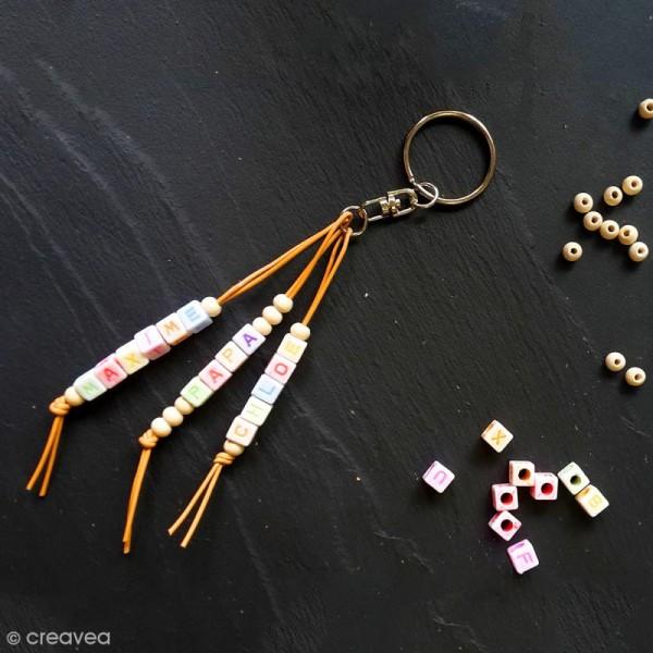 Anneaux de porte-clés avec chaînette -  200 pcs - Photo n°2