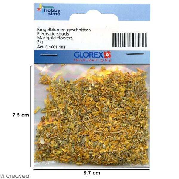 Fleurs séchées de Soucis - 2 g - Photo n°2