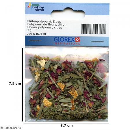 Fleurs séchées de Pot pourri mix - 3 g - Photo n°2