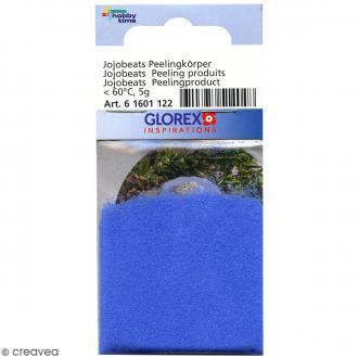 Perles exfoliantes pour cosmétiques - Bleu - 5 g