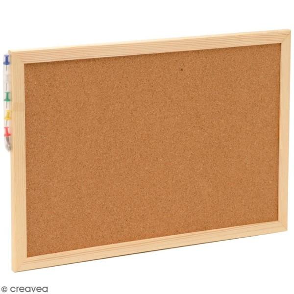 Tableau en liège - 30 x 45 cm - Photo n°1