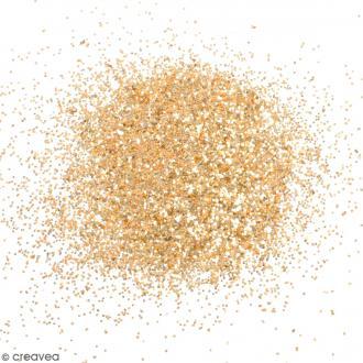 Paillettes pour cosmétiques - Doré - 1 g