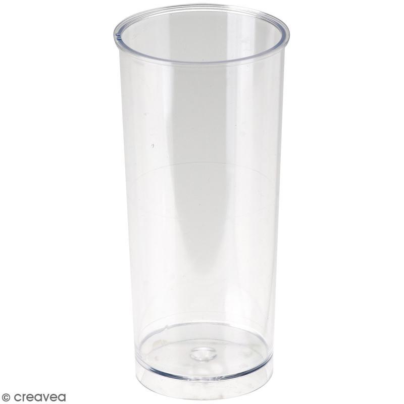 Moule à bougie - Cylindre - 14 x 6 cm - Photo n°1