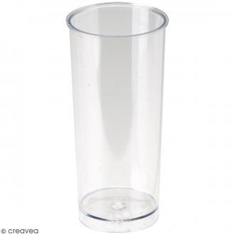 Moule à bougie - Cylindre - 14 x 6 cm