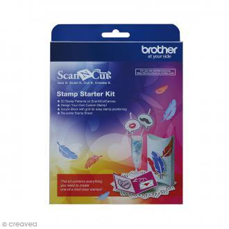 Kit de démarrage pour tampons Scan'n'cut - 50 motifs