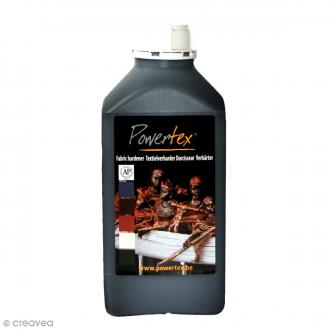 Powertex solidifiant universal medium - Noir - 1 kg
