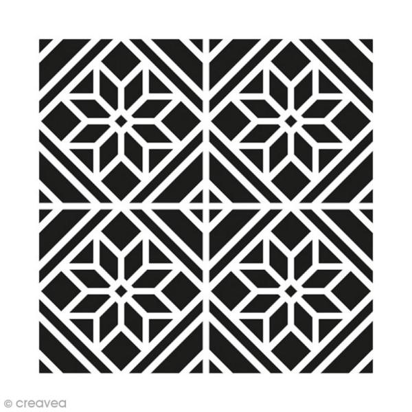 Pochoir Home Deco - Déco classique - 30 x 30 cm - Photo n°1