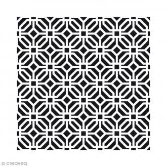 Pochoir Home Deco - Moucharabieh - 30 x 30 cm