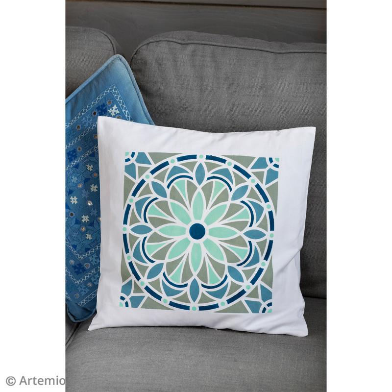 Pochoir Home Deco - Mandala - 30 x 30 cm - Photo n°2