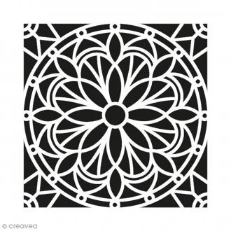 Pochoir Home Deco - Mandala - 30 x 30 cm