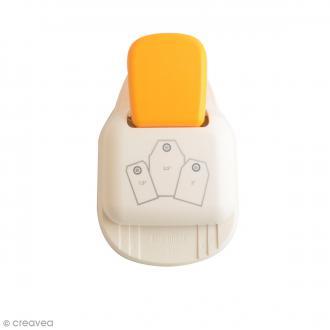 Perforatrice Tag Punch 3 en 1 - Etiquettes standard