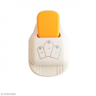 Perforatrice Tag Punch 3 en 1 - Etiquettes arrondies