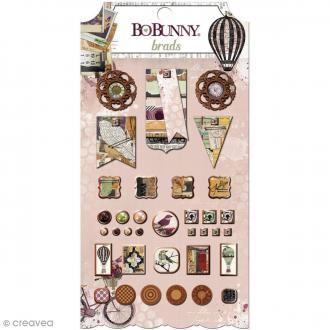 Attache parisiennes Bo Bunny - Beautiful Dreamer - 35 pcs