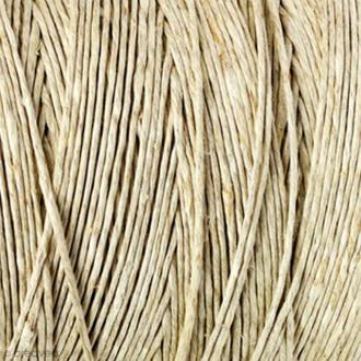 Corde de chanvre naturel - 1,5 mm x 32 m