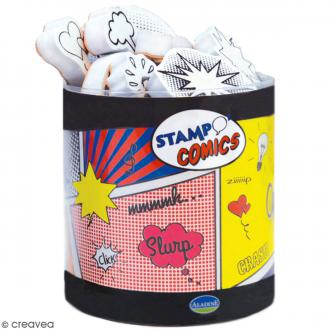 Kit de tampons Stampo - Comics - 30 pcs