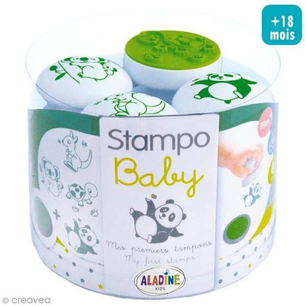 Tampons Stampo Baby - Animaux - Photo n°1