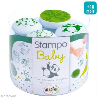 Tampons Stampo Baby - Animaux - 6 pcs