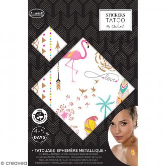Tatouages temporaires - Love - 19 motifs